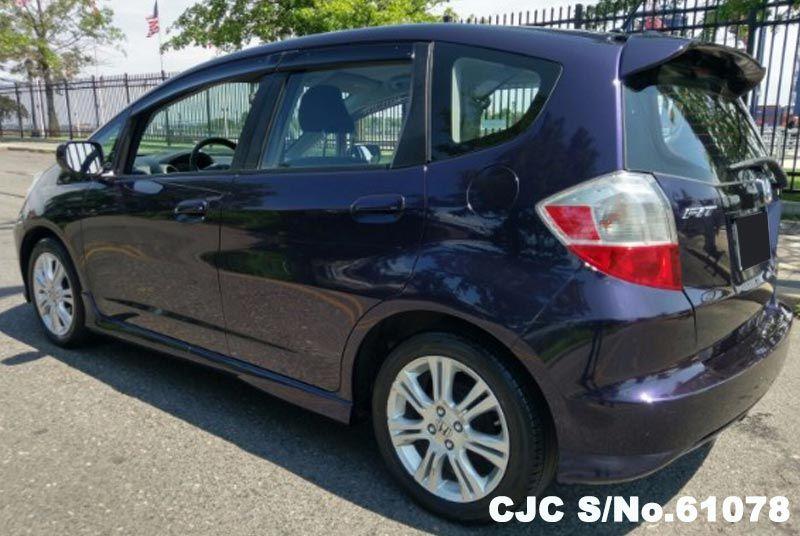 2009 Left Hand Honda Fit Aria Blue For Sale Stock No 61078 Left