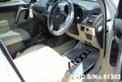 right inside Toyota Land Cruiser Prado 2.8L Diesel White