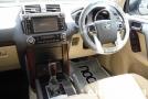front inside Toyota Land Cruiser Prado 2.8L Diesel White