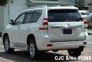 left back side Toyota Land Cruiser Prado 2.8L Diesel White color