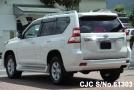 Toyota Land Cruiser Prado 2.8L Diesel White color left back