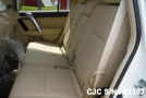 Toyota Land Cruiser Prado 2.8L Diesel White color seat