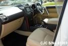 left inside Toyota Land Cruiser Prado 2.8L Diesel White