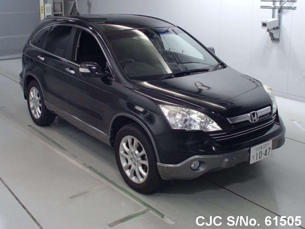 2007 honda crv black for sale stock no 61505 japanese used cars exporter. Black Bedroom Furniture Sets. Home Design Ideas