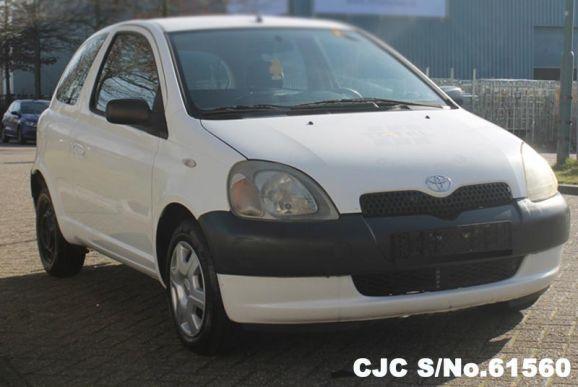 2000 Toyota / Vitz - Yaris Stock No. 61560