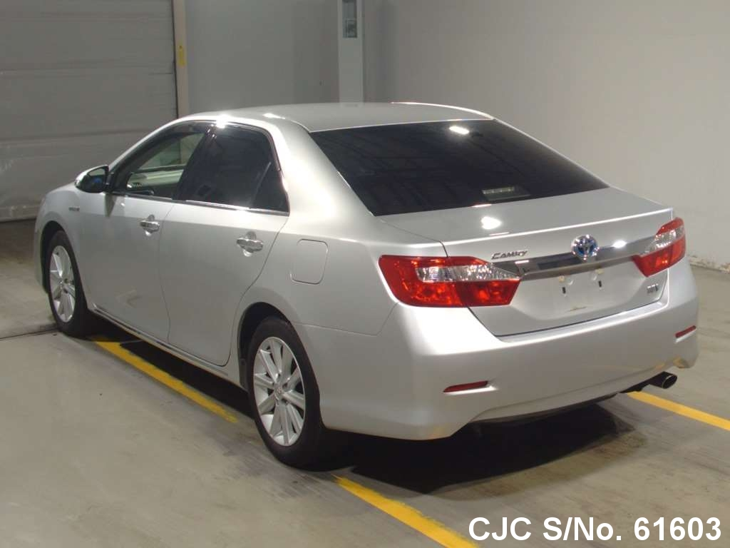 2012 Toyota Camry Hybrid Silver For Sale Stock No 61603