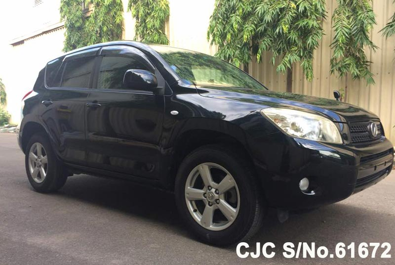 Black Toyota Rav4 for Diplomats