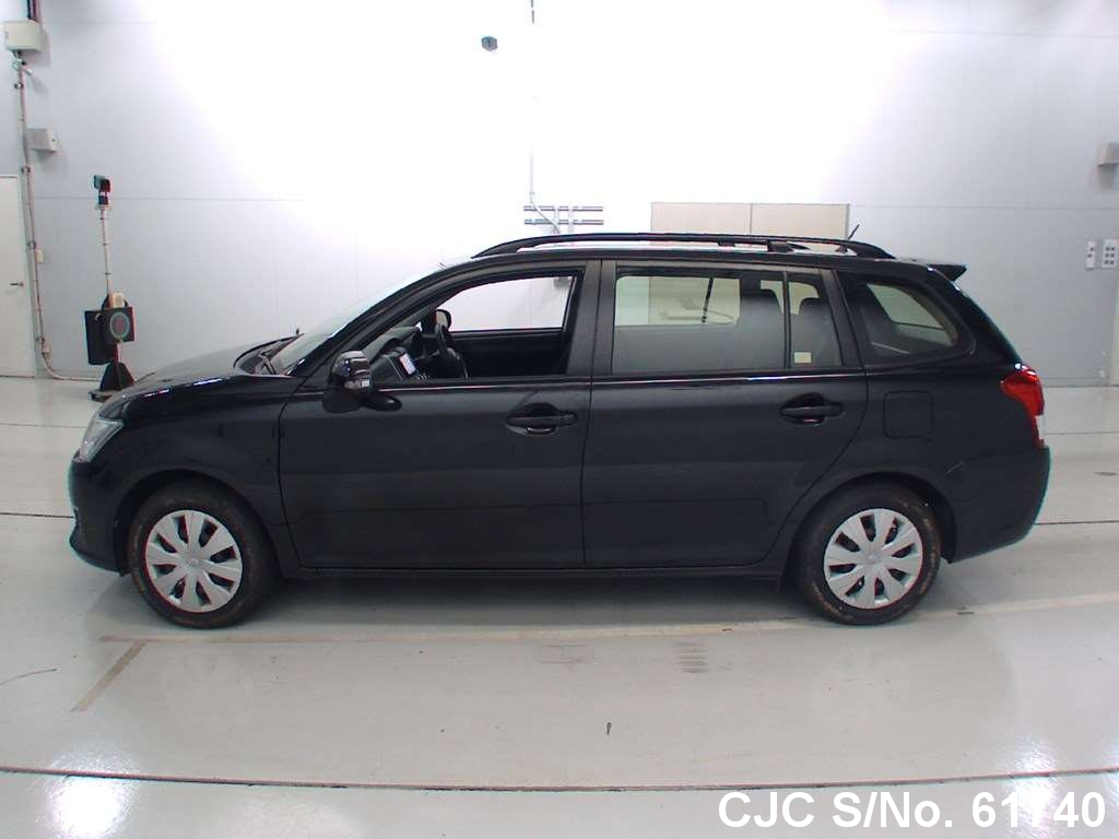 2014 toyota corolla fielder black for sale stock no 61740 japanese used cars exporter. Black Bedroom Furniture Sets. Home Design Ideas