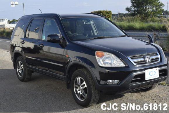 2002 honda crv black for sale stock no 61812 japanese used cars exporter. Black Bedroom Furniture Sets. Home Design Ideas