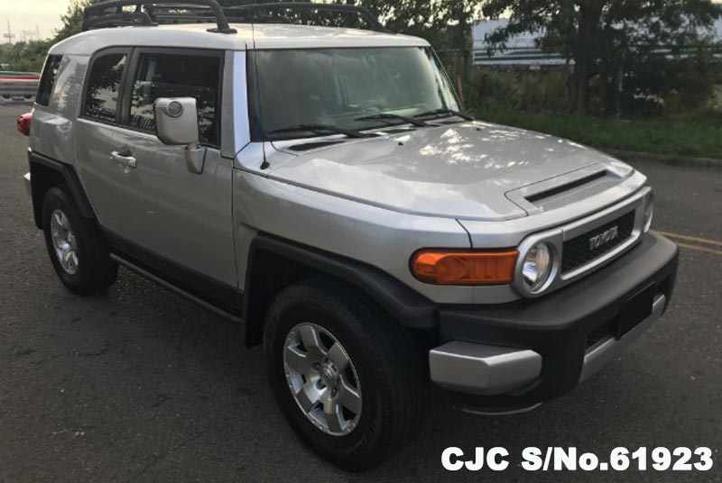 2007 left hand toyota fj cruiser silver for sale stock no 61923 left hand used cars exporter. Black Bedroom Furniture Sets. Home Design Ideas