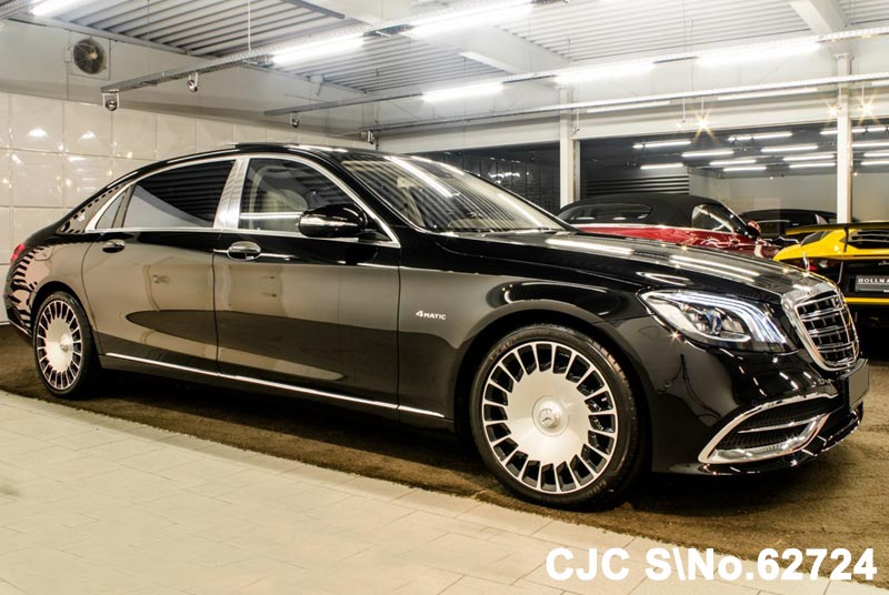 Brand new 2018 left hand mercedes benz s450 black for sale for Mercedes benz s450
