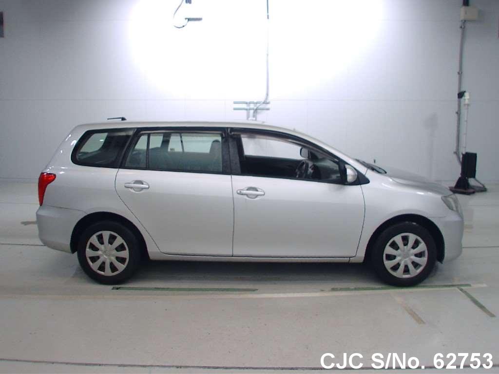 2008 Toyota Corolla Fielder Silver For Sale Stock No