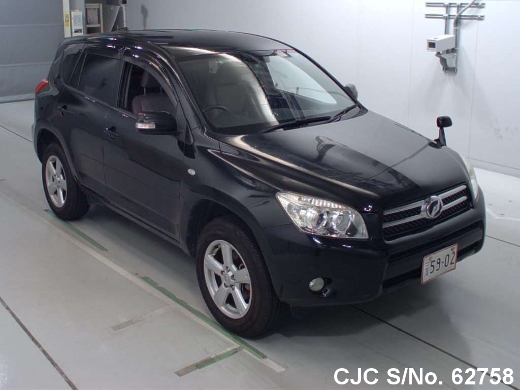 2007 toyota rav4 black for sale stock no 62758 japanese used cars exporter. Black Bedroom Furniture Sets. Home Design Ideas