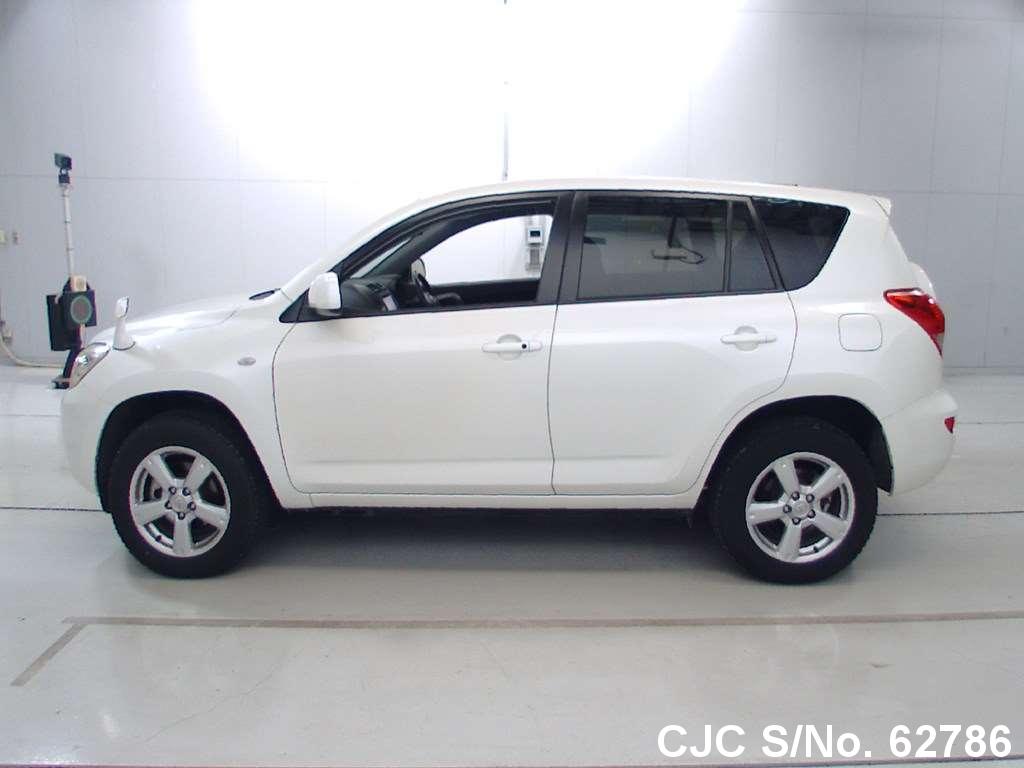 2007 toyota rav4 white for sale stock no 62786 japanese used cars exporter. Black Bedroom Furniture Sets. Home Design Ideas
