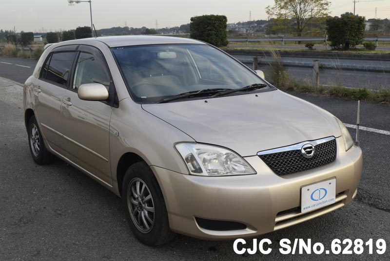 2003 toyota corolla runx beige for sale stock no 62819 japanese rh carjunction com Beforward Toyota RunX Toyota RunX Teardrop 1.8 Z