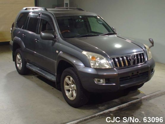2004 toyota land cruiser prado charcoal for sale stock. Black Bedroom Furniture Sets. Home Design Ideas