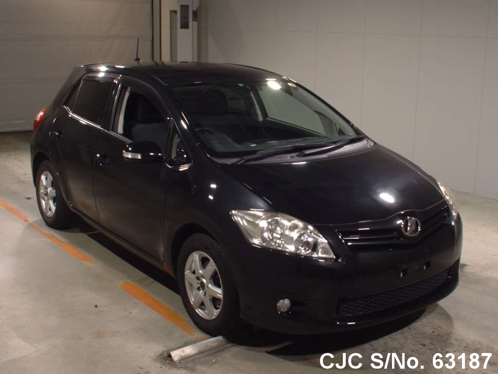 2011 toyota auris black for sale stock no 63187 japanese used cars exporter. Black Bedroom Furniture Sets. Home Design Ideas