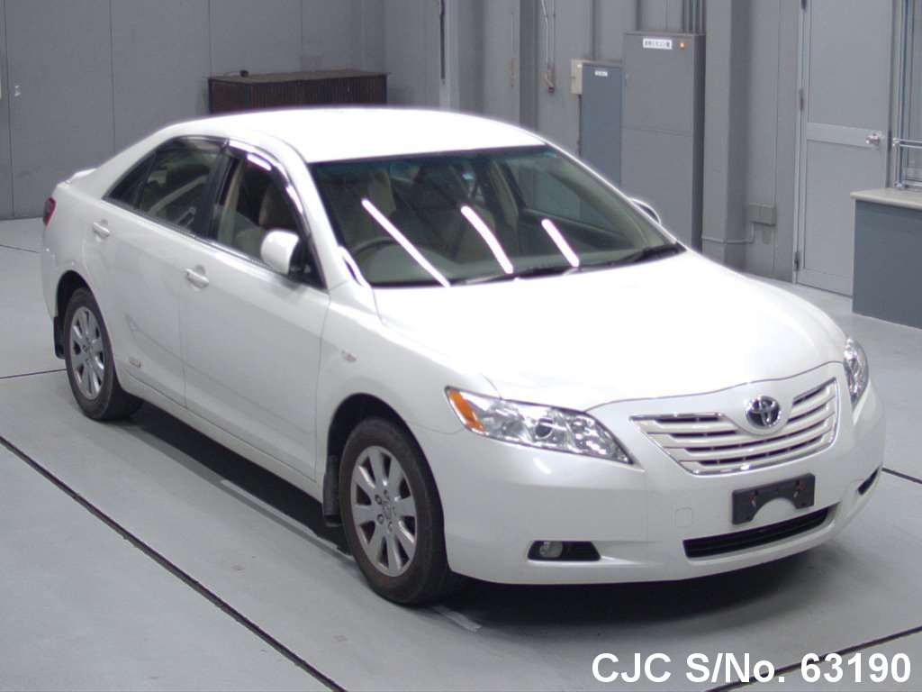 2008 Toyota Camry White For Sale Stock No 63190