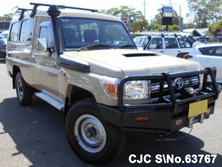 2014 toyota land cruiser 78 beige for sale stock no 63767 japanese used cars exporter. Black Bedroom Furniture Sets. Home Design Ideas