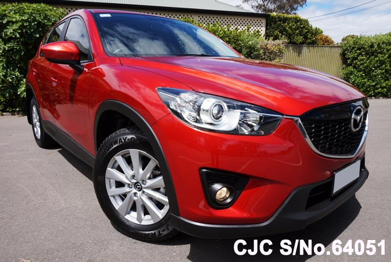 2014 mazda cx 5 red for sale stock no 64051 japanese used cars exporter. Black Bedroom Furniture Sets. Home Design Ideas