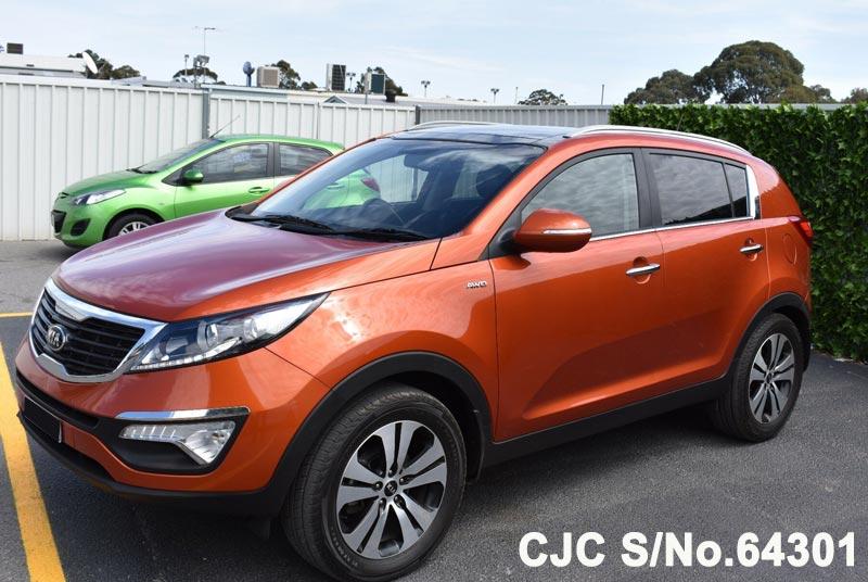 2012 Kia Sportage Orange for sale | Stock No. 64301 ...