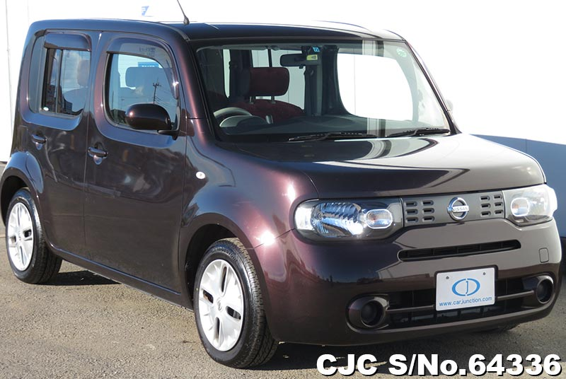 2010 nissan cube brown for sale stock no 64336 japanese used cars exporter. Black Bedroom Furniture Sets. Home Design Ideas