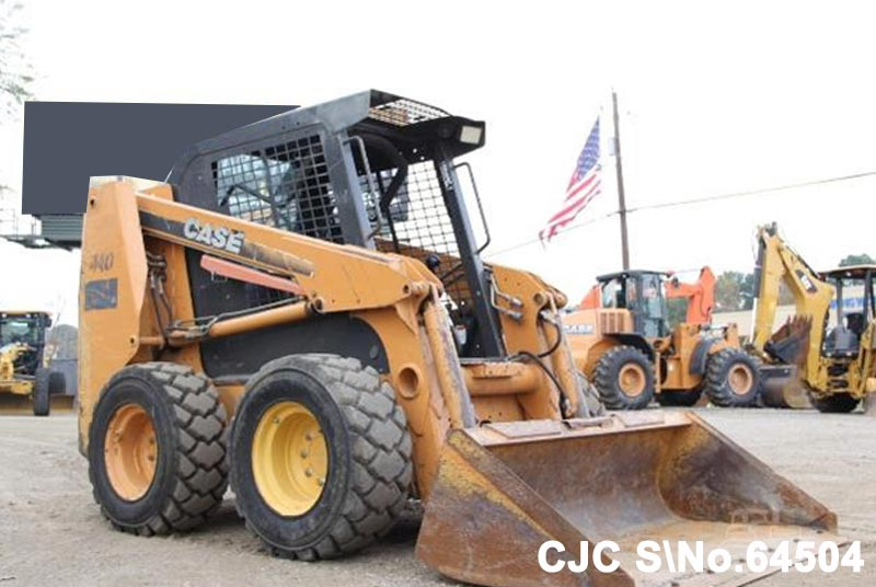 Used Case 440 Skid Steer Loader for sale | 2007 model | CJC