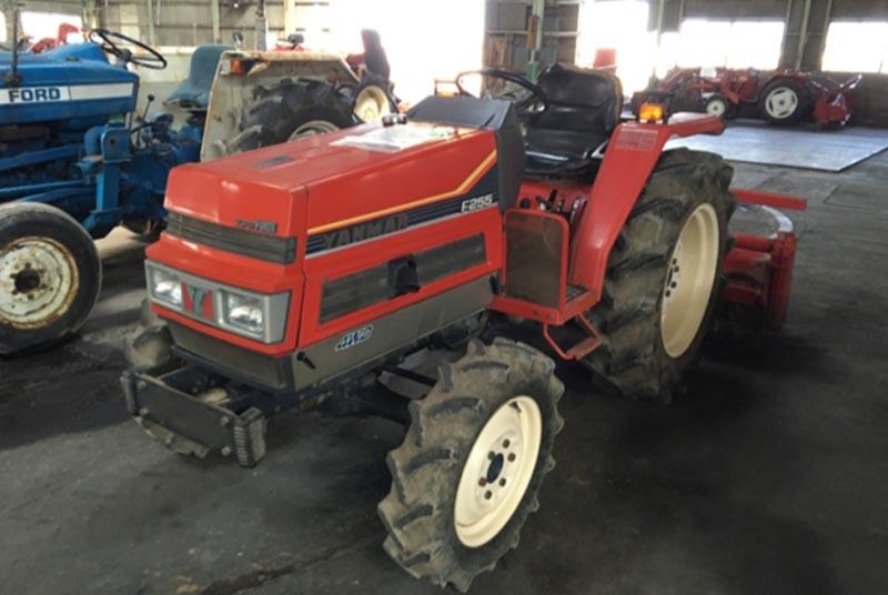 Used Yanmar F255 Tractors for sale   Car Junction Japan
