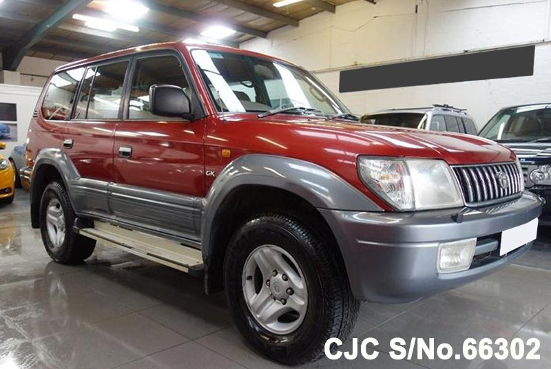 2000 Toyota / Land Cruiser Prado Stock No. 66302