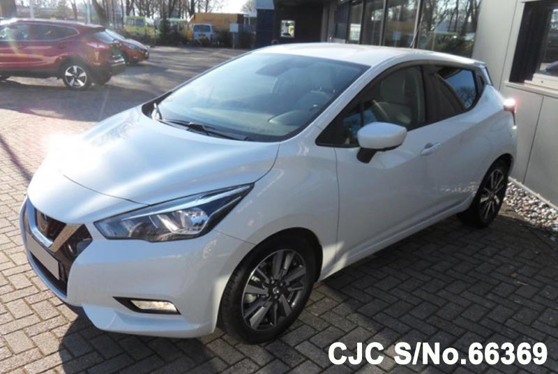 Brand New 2018 Left Hand Nissan Micra White For Sale Stock