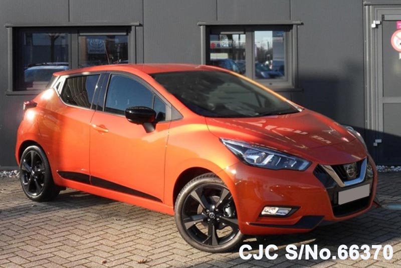 brand new 2018 left hand nissan micra orange for sale