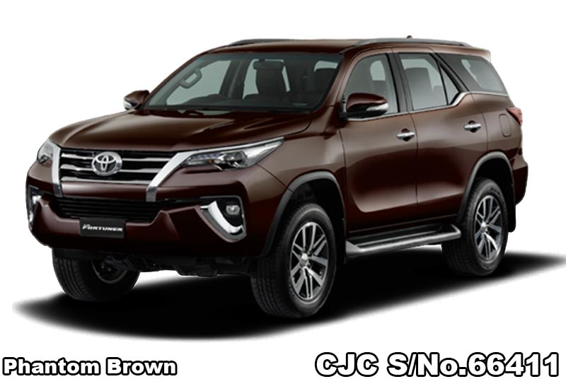 2018 Toyota / Fortuner Stock No. 66411