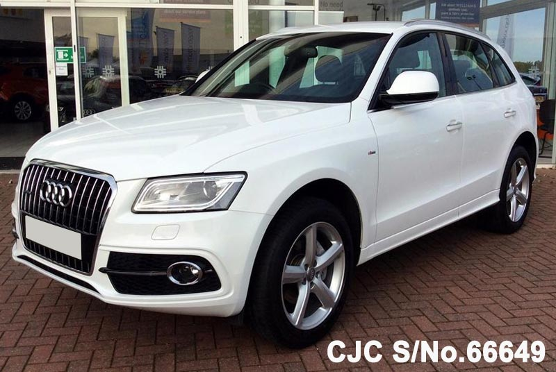 2015 audi q5 white for sale stock no 66649 japanese used cars exporter. Black Bedroom Furniture Sets. Home Design Ideas