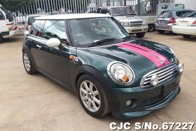 2007 Bmw Mini Cooper Green For Sale Stock No 67227 Japanese