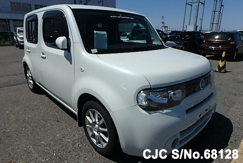 2009 Nissan Cube White For Sale Stock No 68128 Japanese Used