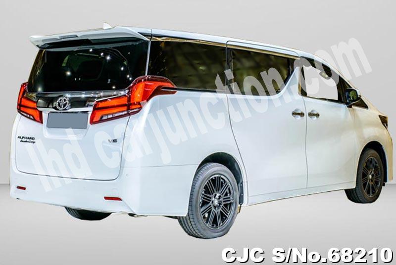 2018 Toyota Alphard Stock No 68210