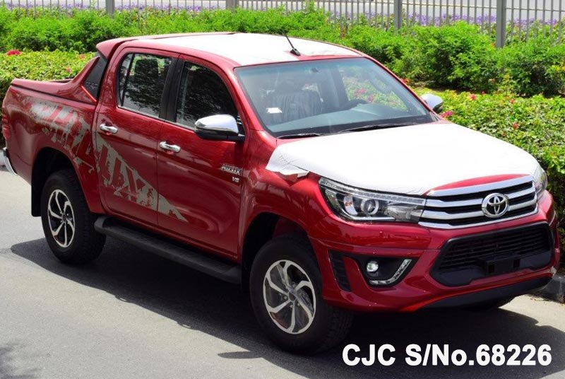 Brand New 2018 Left Hand Toyota Hilux Red for sale | Stock No  68226