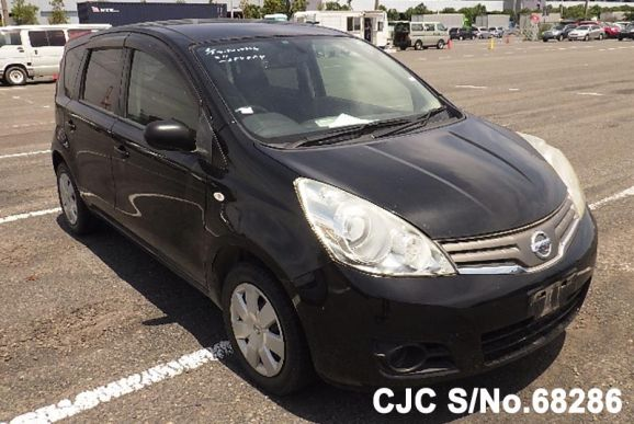 2009 Nissan / Note Stock No. 68286