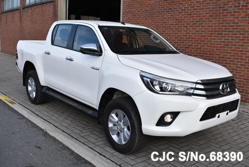 Brand New 2018 Left Hand Toyota Hilux White for sale | Stock No