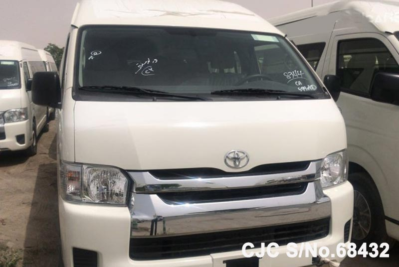 Brand New 2018 Left Hand Toyota Hiace White for sale | Stock