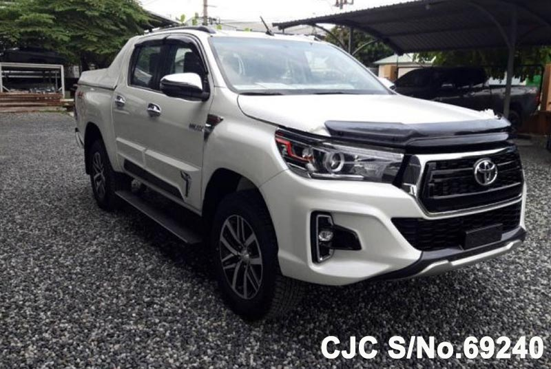 Brand New 2018 Left Hand Toyota Hilux White for sale | Stock