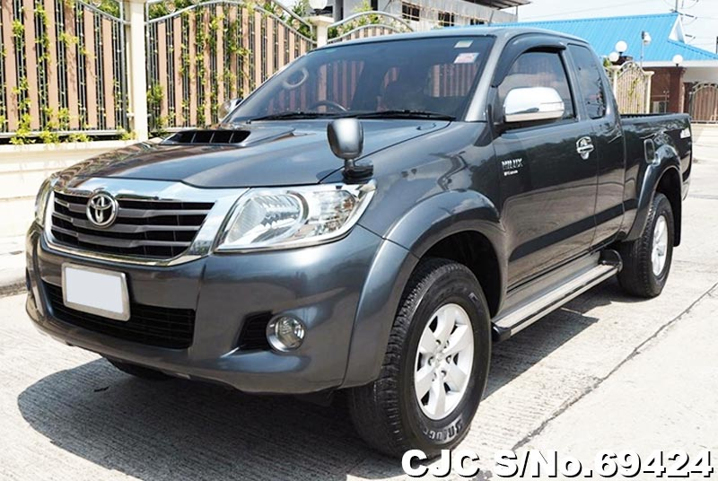 2012 Toyota Hilux Gray For Sale Stock No 69424