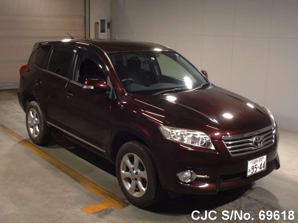 2012 Toyota Vanguard Wine for sale | Stock No. 69618 | Japanese Used ...