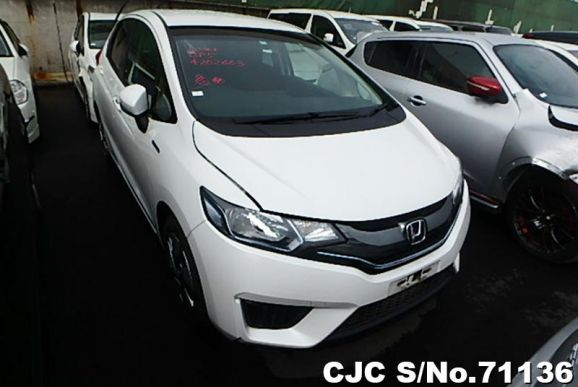 2015 Honda / Fit/Jazz Hybrid Stock No. 71136
