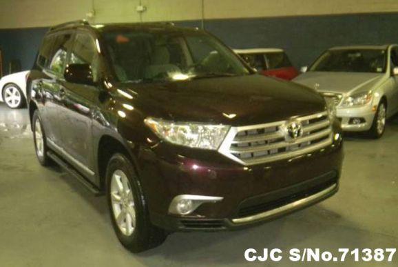 2011 Toyota / Highlander Stock No. 71387