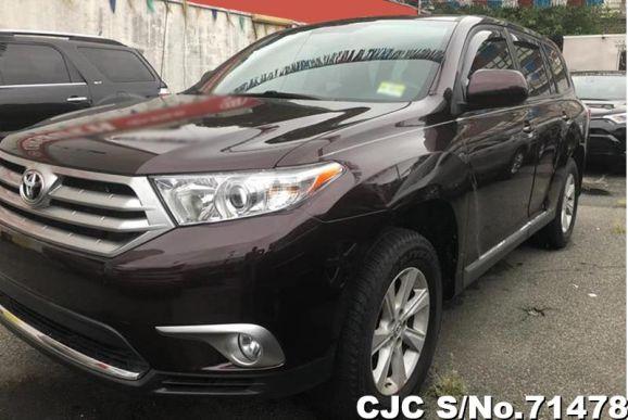 2012 Toyota / Highlander Stock No. 71478