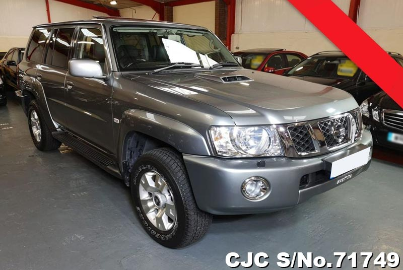 2009 Nissan Patrol Silver For Sale Stock No 71749 Japanese Used