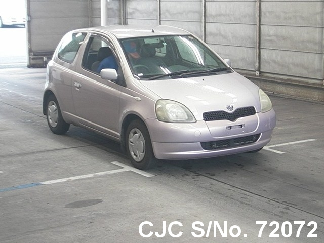 2000 Toyota / Vitz - Yaris Stock No. 72072
