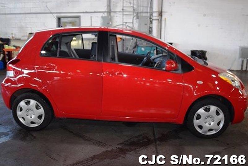 2010 Toyota / Vitz - Yaris Stock No. 72166