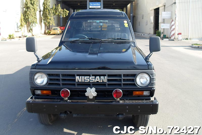 Black Nissan Safari for Diplomats
